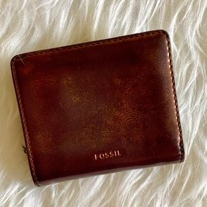 Fossil small bifold wallet